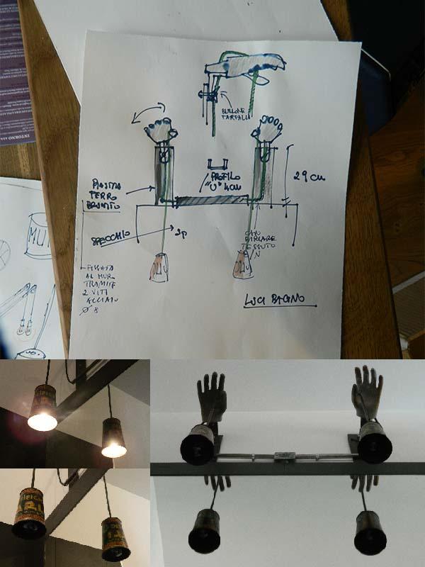 Lampade_arredo_bagno_riciclo_creativo_idee_lampadari_Balon_Lamps_Torino_Italy