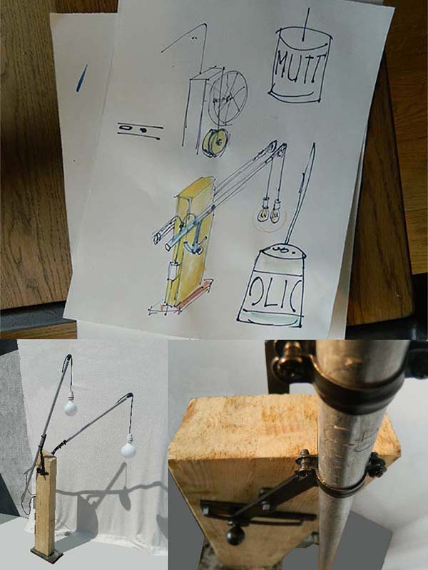 Lampade_da_terra_riciclo_creativo_idee_lampadari_Balon_Lamps_Torino