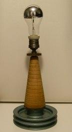 Pedone prototipo lampada da tavolo, Balon Lamps, Torino