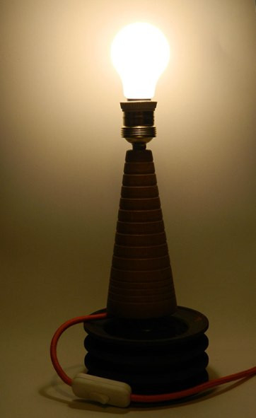 "Prototipo lampada ""Pedone"", Balôn Lamps"