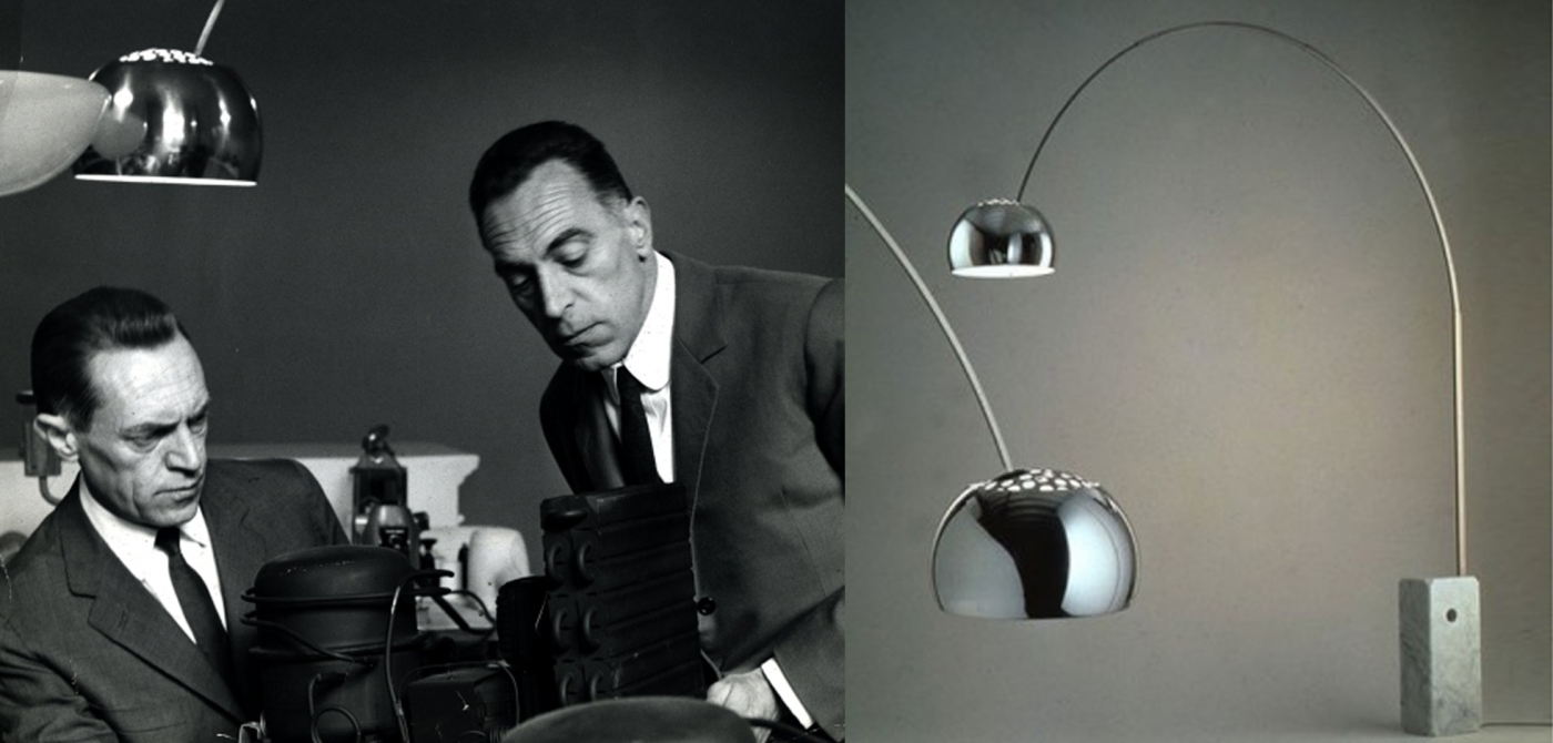Il lungo fiume del design italiano balon lamps design for Lampade castiglioni