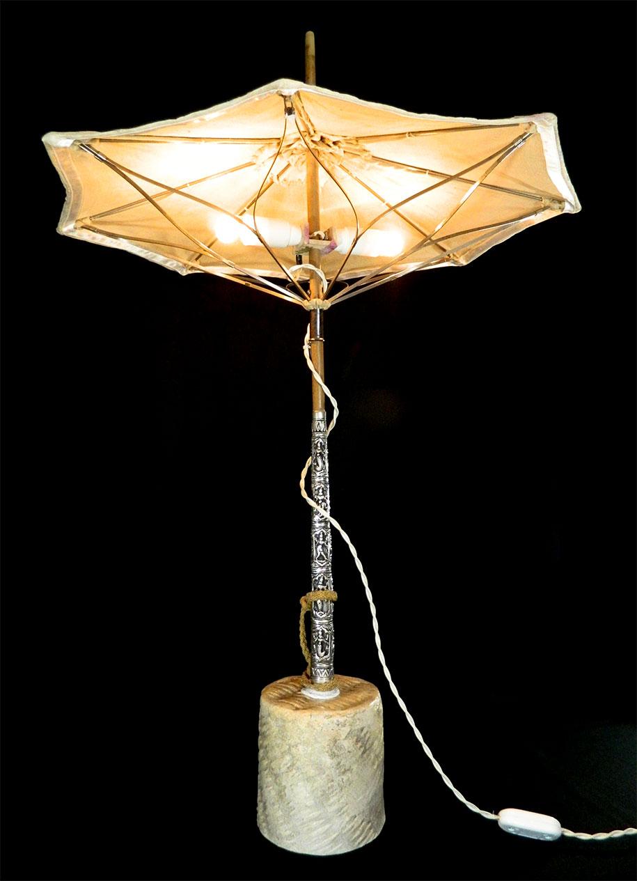 Lampade ceramica moderne: applique a 2 luci ferro battuto ceramica ...